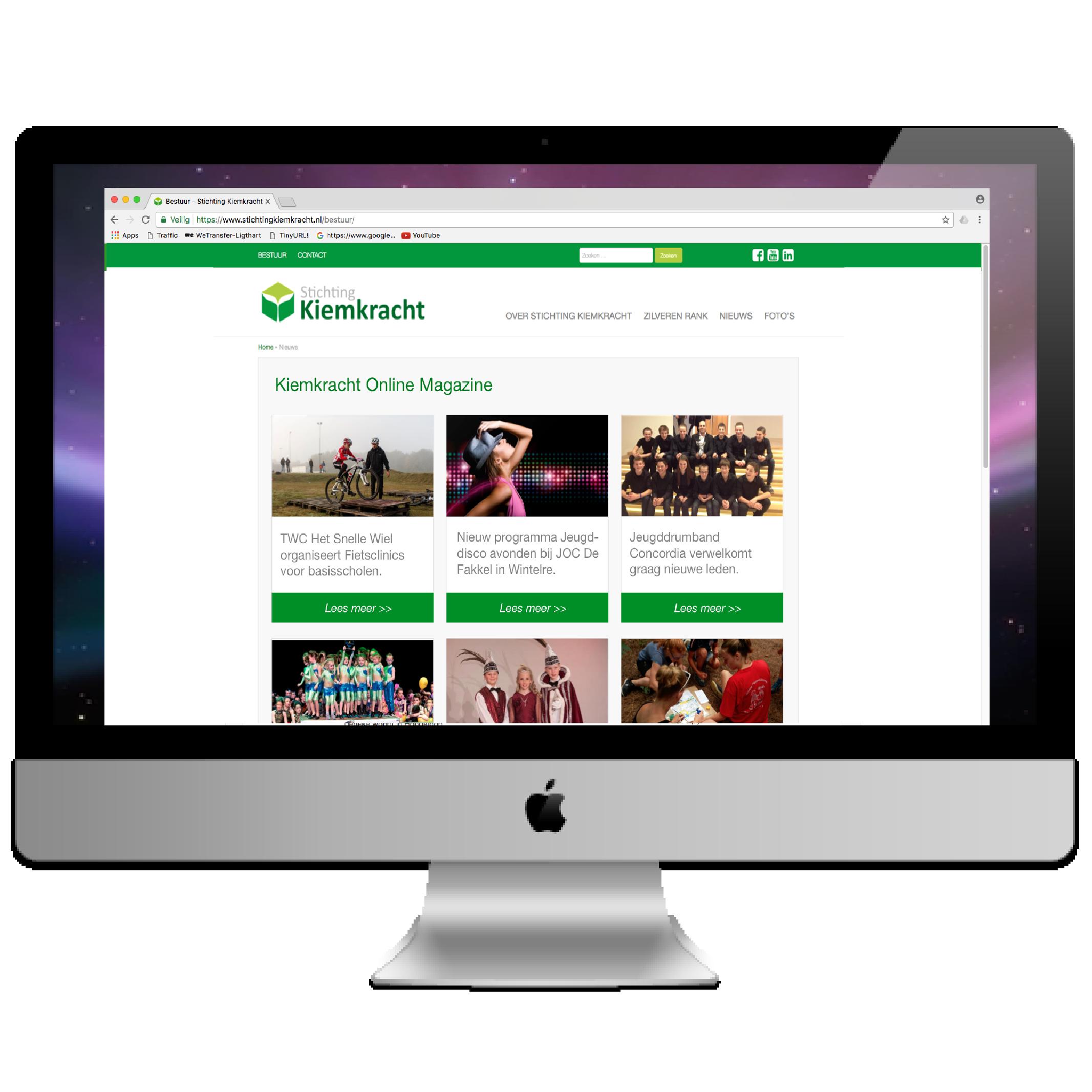 Kiemkracht Online Magazine, platform voor jongerenactiviteiten in regio De Kempen