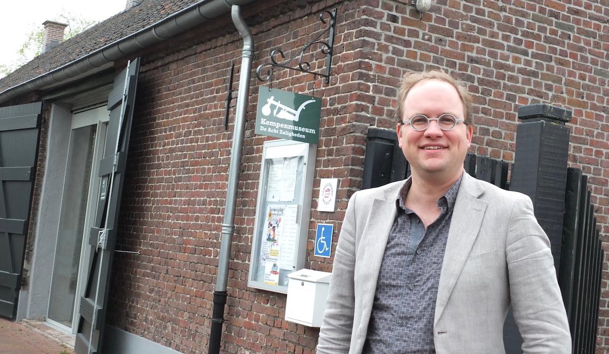 Sies Vonk, conservator / zakelijk leider van Kempenmuseum De Acht Zaligheden Eersel