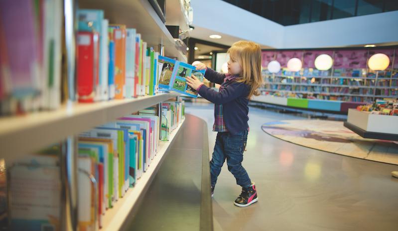 Bibliotheek op school - digitale geletterdheid.