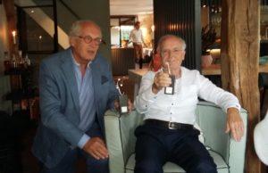 afscheid oud-bestuursleden Stichting Kiemkracht - Huub Jansen en Wim Wijlaars